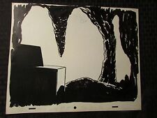 1960's SUB-MARINER TV Animation Cartoon Production Art BACKGROUND Sc63