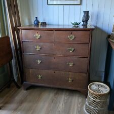More details for georgian oak chest of drawers
