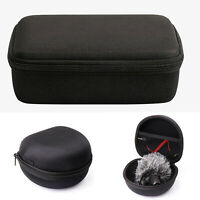 Portable Carrying Storage Case Bag Pouch for Rode VideoMic Pro/Plus Microphone
