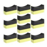 4X(10pcs U-Shape Auto Tyre Car Tire Wheels Truck Brush Paint Care Wash Cleani Q4