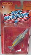 MJ7 Matchbox - 1989 USA Skybusters - Military - #06/14  Phantom - Gray