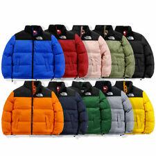 Men Women THE NORTH FACE Zip Warm Winter Down Jacket Hoodied Tops Casual Coat