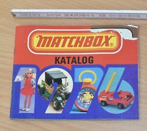MATCHBOX - Katalog 1976, 48 Seiten