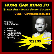Home Study Course: Hung Gar Kung Fu (Yellow to Black Sash Complete) Limited