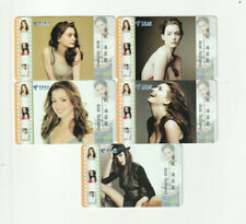 (5) Rare Phone Cards Anne Hathaway