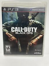CALL OF DUTY: BLACK OPS (Sony PlayStation 3) PS3 Adult Owned