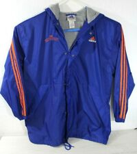 Adidas The Waterboy Coach Klein Varsity Football Jacket SCLSU Blue Size Large