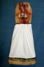 **NEW** Handmade Gingerbread House Hanging Kitchen Fridge Hand Towel #416C