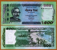 Bangladesh, 500 taka, 2012, P-55-New, UNC