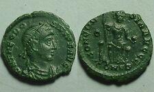 Año 392/395. THEODOSIO I. Centenional Cobre 17 mm. Constantinopla. Peso 1,76 gr.