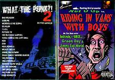 What the Punk - Part 2 (DVD) & Riding in Vans with Boys; The Movie (DVD)