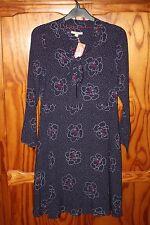 BNWT WOMEN WHITE STUFF ARIA LINED DRESS ECC BLUE AW16