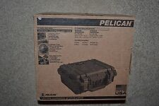 "Pelican 1200 Case with Foam for Camera 10"" x 5"" x 11"" (Orange)  NIB"