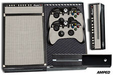 XBOX ONE 1 Skin Game Console Decals Plus 2 Controller Stickers Wrap AMP