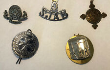More details for 3 sjab - st. john ambulance brigade shoulder title badge + other sjab badges