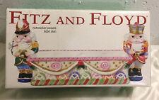 Fitz & Floyd Nutcracker Sweets Tidbit Dish Brand New In Box Nib!