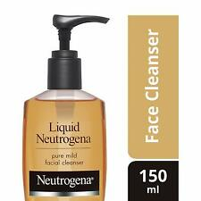 Neutrogena Pure Mild Facial Cleanser 150ml  Deep Clean Face care Free Shipping