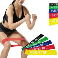 Latex Elastic Resistance Loop Bands Exercise Crossfit Yoga Fitness Gym Training