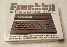 Franklin Computer Spelling Ace Sa-98 Linguistic Tech Spelling Checker with Box