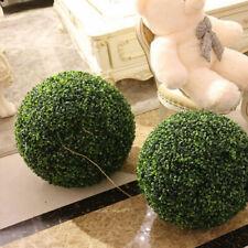 10-50cm Artificial Green Grass Ball Topiary Hanging Home Garden Party Decor DIY