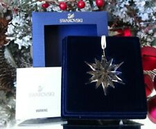 2011 Nib Swarovski Annual Little Christmas Ornament Star/Snowflake # 1092038