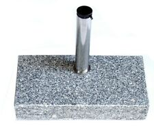 Sonnenschirm-ständer Balkon-Schirm-Ständer Schirm-fuß Halter rechteckig Granit
