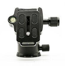 """Camera Tripod Ball Head + Quick Release Plate 1/4"""""""