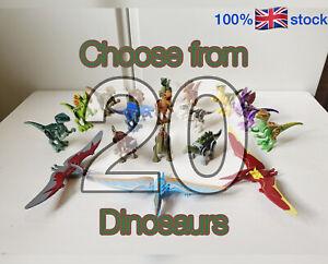 Dinosaur Jurassic Park World fits LEGO figures: Over 20 Options   UK Stock