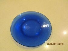 """Cobalt Blue Plates  8"""" Wide – Dinner or Luncheon Plate"""