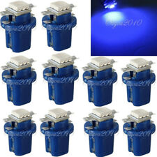 10x T5 B8.5d 5050 SMD LED Blau Tacho Innenraum Beleuchtung Lampe Licht Birne 12V