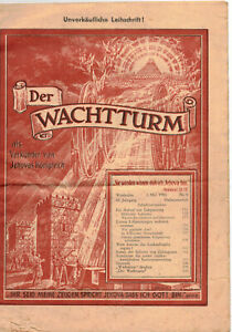 Der Wachtturm Jehova Nr. 9 / 1950 ! (H5