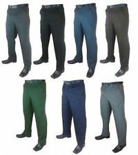 Pleated Mid Rise Trousers for Men
