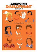 Arrested Development: Season 4 (DVD, 2014, 3-Disc Set) Brand New Factory Sealed
