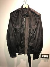 *Celebrity Clothing* Allsaints *SWEENY JACKET* Barbour Faux Leather Wax RRP £298
