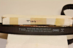 T103  TIMING BELT-GATES (USA) T103  FORD, MAZDA -ALT ( 94109)-see listing below