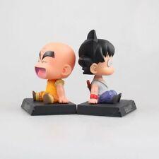 12cm Dragon Ball super Z Goku Krillin Car Holder Decoration Action Figure Toy