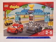 LEGO duplo 10857 **** PISTON CUP RACE ****  31 piece set - Ages 2-5 years
