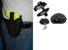 GUN HOLSTER,GLOCK26,27,TAURUS MILLENIUM,WALTHER P22LASER ,FREE TRIGGER LOCK 300