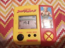 Vintage Street Fighter II Grandstand Electronic Handheld Game Very Rare