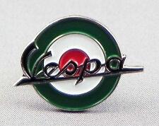VESPA - LAPEL PIN BADGE - SCOOTER SCOOTERIST MOD ROUNDEL ITALIAN BIKE (106)