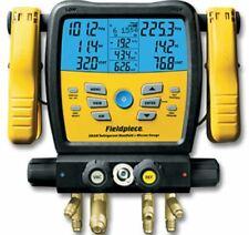Fieldpiece Sm480v 4 Port Wireless Manifold With Micron Gauge