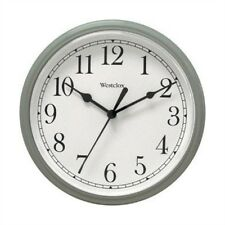 8.5 ROUND WALL CLOCK SILVER