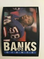 1985 Topps #111 CARL BANKS ROOKIE CARD RC New York Giants QTY AVAIL Ext - Mint