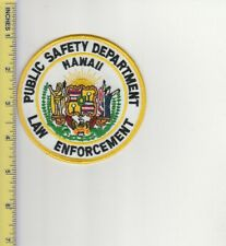 US Police Patch Hawaii Public Safety Department Law Enforcement