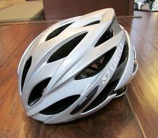 Giro Savant Road Cycling Helmet – Unisex - White/Sliver – Small (51-55cm) - NEW