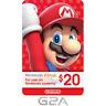 Nintendo 20$ eShop Gift Card - 20 USD Nintendo Switch/3DS/WiiU Digital Key [US]
