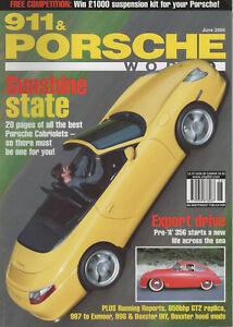 911 & PORSCHE WORLD 135 2005 OPEN-AIR PORSCHES 993 GT2 REPLICA 356 PRE A COUPE