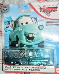 BLUE BRAND NEW MATER TOW TRUCK ● SCAVENGER HUNT METALLIC ● DISNEY PIXAR CARS