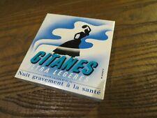 ancien paquet de cigarette gitanes ultra légères pour collection uniquement*1*