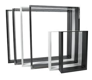 Tischkufen Tischgestell Tischbeine Tischkuven Tischuntergestell schwarz Design